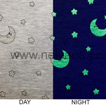 cecfdcd91746 Svítící úplet-noční obloha