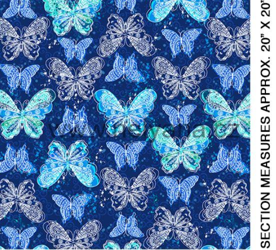 BUTTERFLY CELEBRATION BLUE