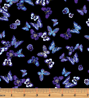 MINI BUTTERFLIES BLUE